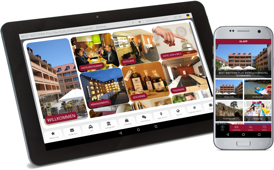 Digital guest directory completes with hotel web app iQ App