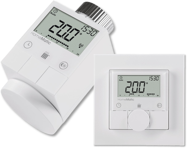 iQ Roomcontrol thermostat for heating and air conditioning