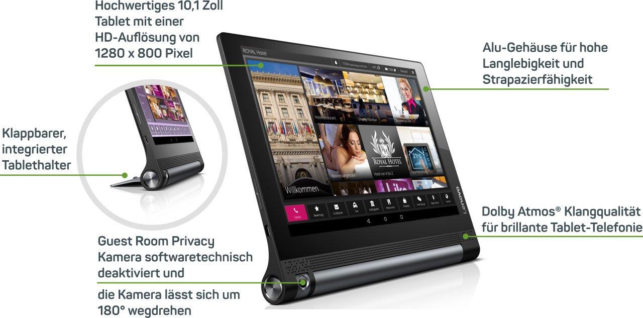 10,1 Zoll Lenovo Yoga Tablet