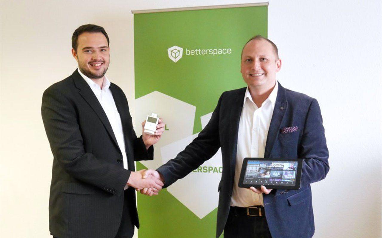 Beide Geschäftsführer der Betterspace GmbH, Gerhard Weiß und Alexander Spisla (v.l.n.r)