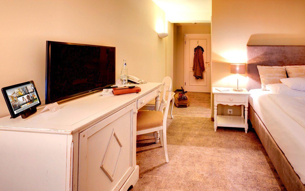 Einzelzimmer im Romantikhotel am Brühl