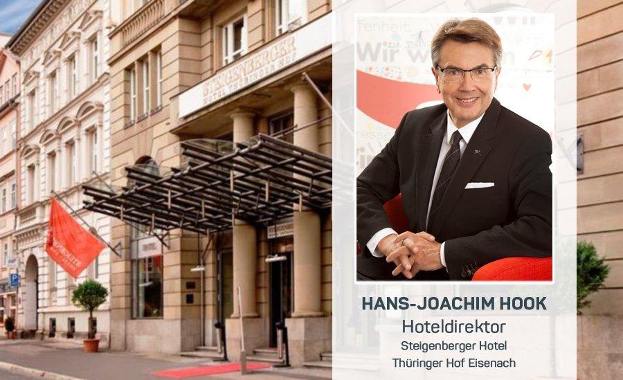 Hoteldirektor Dr. Hans-Joachim Hook