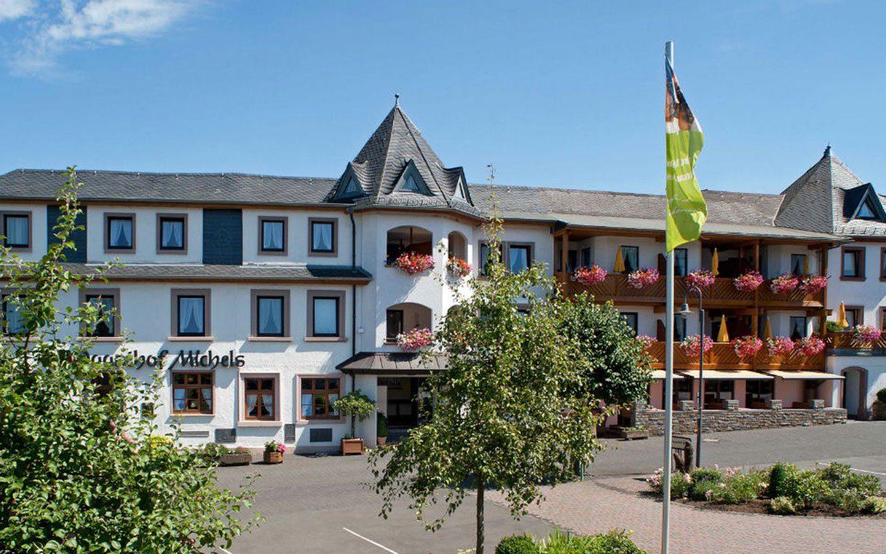 Außenansicht des Hotels Michels Wohlfühlhotel