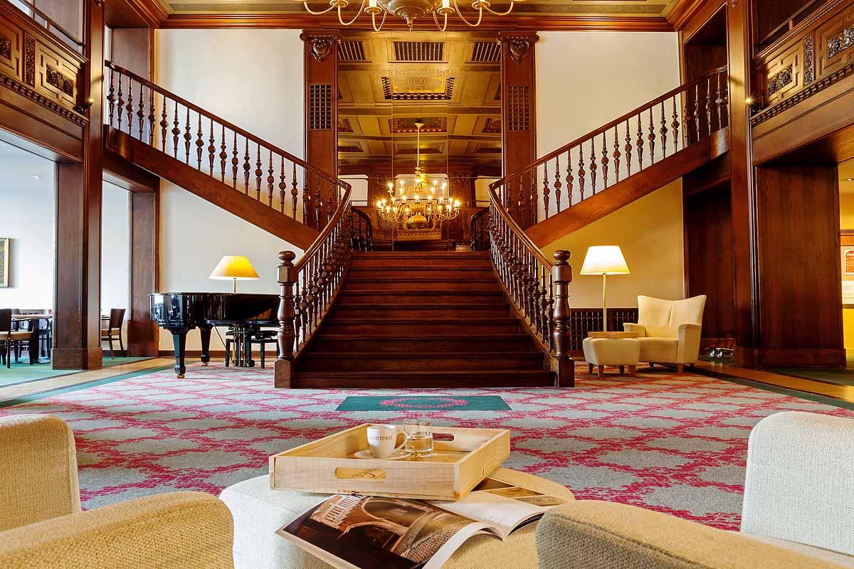 Lobby des Hotels Thüringer Hof Eisenach