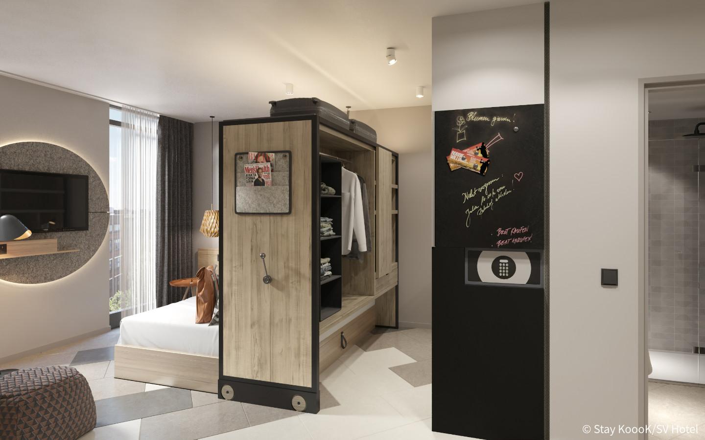 Familienzimmer im neuen Stay Koook Hotel Bern Wankdorf
