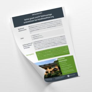 Customer - Erfolgsgeschichten: Clever kombiniert – In-Room Tablet und IP-Telefonanlage