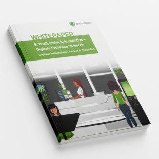 Customer - Whitepaper: Digitale Prozesse im Hotel – Digitaler Meldeschein, Check-In & Check-Out