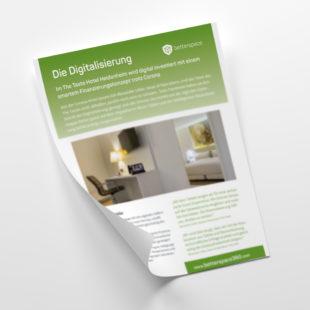 Customer - Merkblatt inkl. Anwenderbericht: Finanzierung mit Beyond Bookings