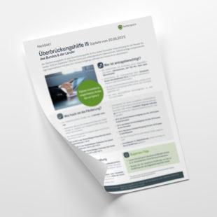 Customer - Merkblatt: November- & Überbrückungshilfe II