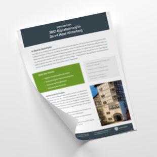 Customer - Erfolgsgeschichte: 360° Digitalisierung im Dorint Hotel & Sportresort Winterberg