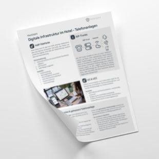 Customer - Merkblatt: Digitale Infrastruktur