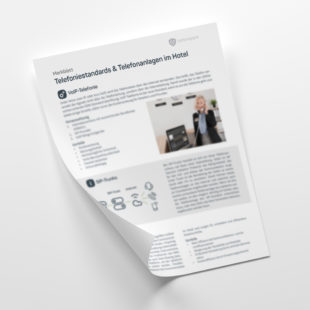 Customer - Merkblatt: Telefoniestandards & Telefonanlagen im Hotel
