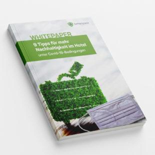 Customer - Whitepaper: 9 Tipps für mehr Nachhaltigkeit trotz neuer Hygieneregelungen im Hotel